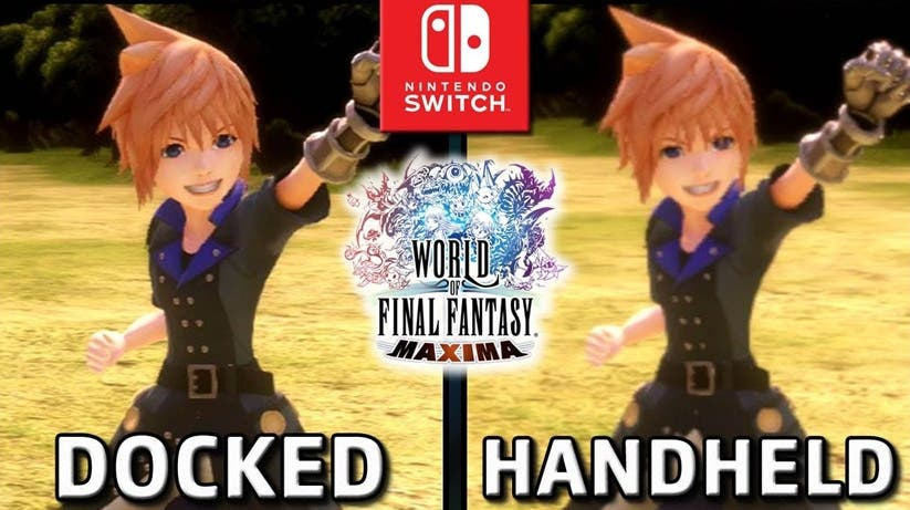 [Act.] Análisis y comparación de World of Final Fantasy Maxima para Nintendo Switch en distintos modos