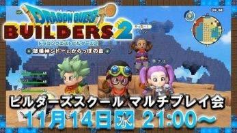 Anunciado un directo de Dragon Quest Builders 2 centrado en el multijugador