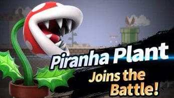 La Planta Piraña llegará a Super Smash Bros. Ultimate en febrero