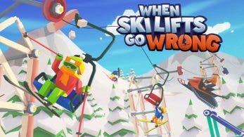 When Ski Lifts Go Wrong se estrenará en Nintendo Switch a principios del próximo año