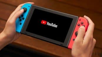 La app de YouTube de Nintendo Switch es compatible con los teclados USB