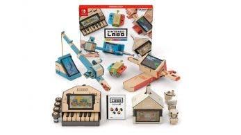 Los productos de Nintendo Labo actualizan sus imágenes en Japón