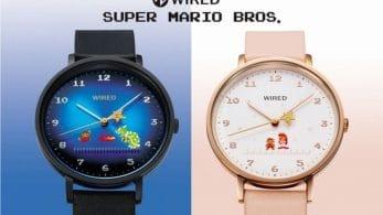 Estos relojes de pulsera de Super Mario Bros. llegarán a Japón el 8 de diciembre