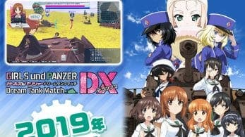 Se anuncia Girls und Panzer: Dream Tank Match DX para Nintendo Switch