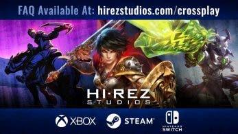 Retrasada la salida de Smite y características del juego multiplataforma de Hi-Rez en Switch