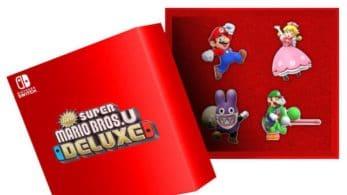 La Nintendo UK Store ofrece un set de pines y un póster por reservar New Super Mario Bros. U Deluxe
