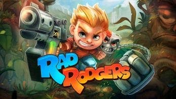 Rad Rodgers ha sido calificado para Nintendo Switch por la ESRB