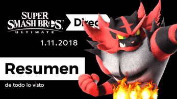 Resumen y diferido completo del Super Smash Bros. Ultimate Direct
