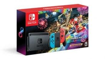 El pack de Nintendo Switch con Mario Kart 8 Deluxe llegará el 3 de diciembre a Europa a un precio de 300€