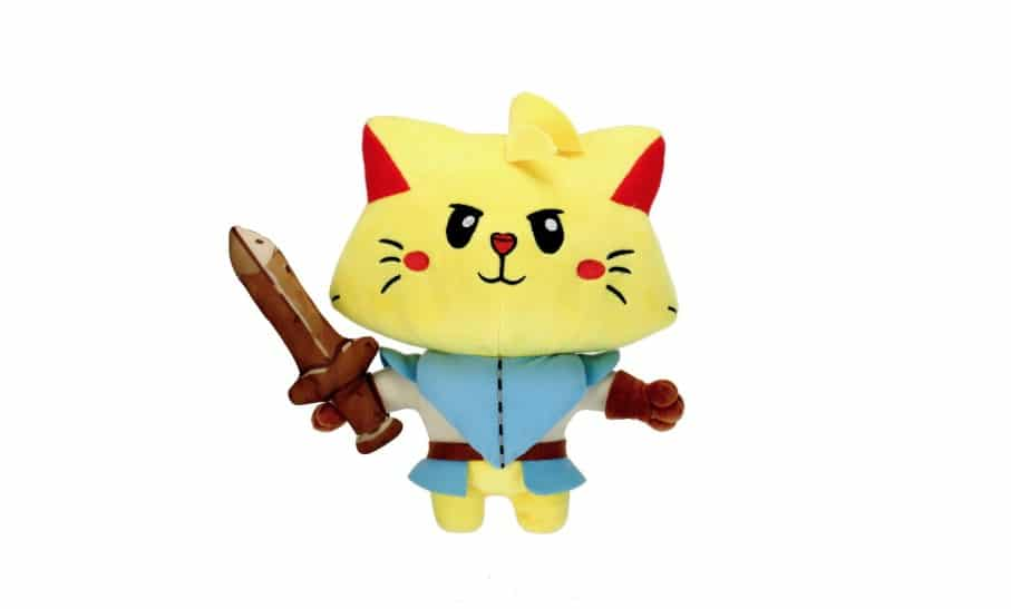 Este peluche oficial de Cat Quest ha sido anunciado