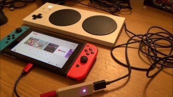 Así se usa el mando adaptativo de Xbox con Nintendo Switch