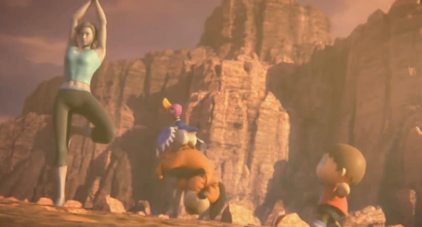 Conocemos la razón por la que la Entrenadora de Wii Fit hace una pose de yoga en el último vídeo del Super Smash Bros. Ultimate Direct