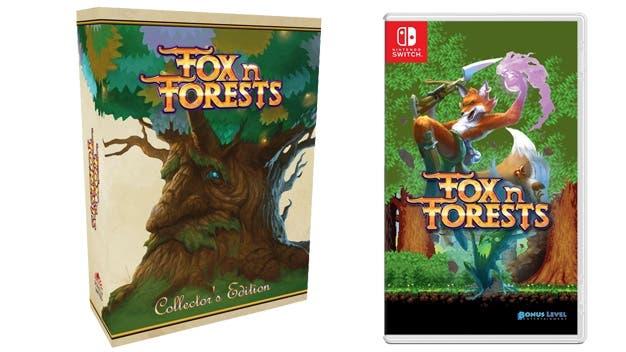 Strictly Limited Games anuncia las ediciones físicas estándar y para coleccionistas de Fox n Forests