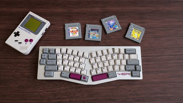 Echa un vistazo a esta serie de teclas con diseños de Game Boy