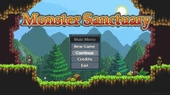 Monster Sanctuary completa su objetivo de financiación en Kickstarter y llegará a Switch