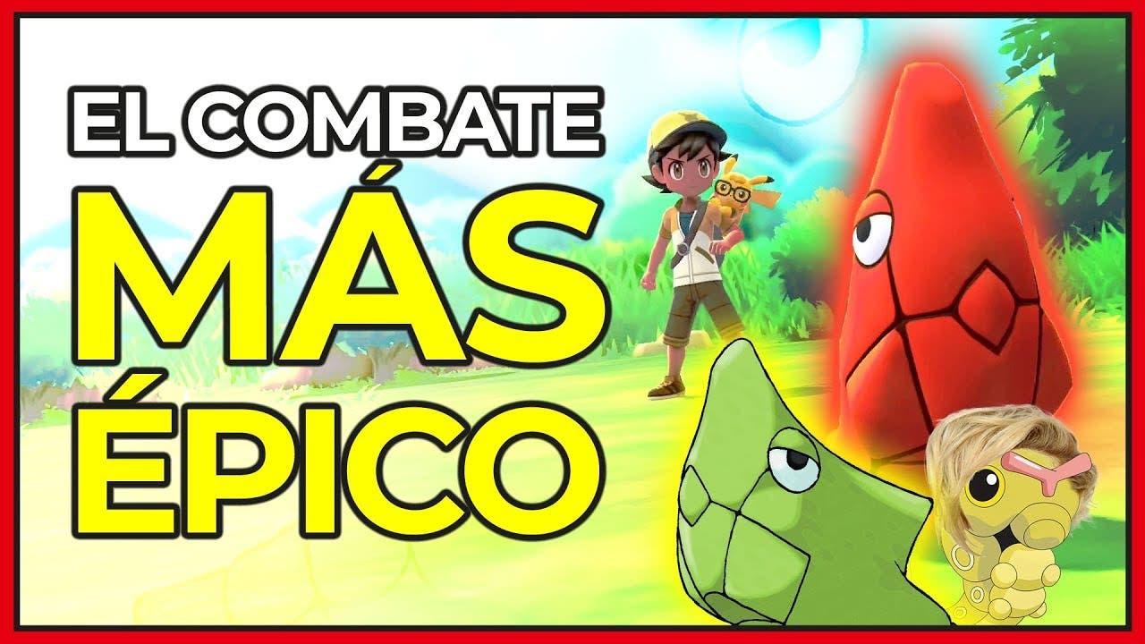 [Vídeo] ¡Metapod shiny vs. Metapod! La batalla más épica en Pokémon: Let's Go, Pikachu! / Eevee!