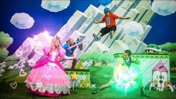 Este vídeo muestra un combate de Super Smash Bros. Ultimate pero con personas reales