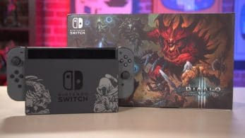 Unboxings del pack de edición limitada de Diablo III: Eternal Collection para Switch