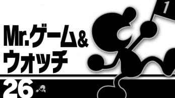 El blog occidental de Super Smash Bros. Ultimate se olvida de Mr. Game & Watch