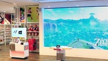 Si te hiciste una foto con la estatua de Link en la tienda Nintendo NY podías conseguir un póster de edición limitada