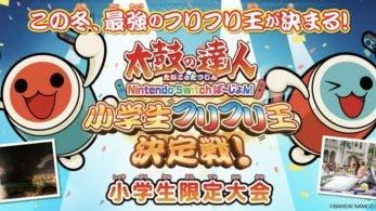 Se anuncia un torneo de Taiko No Tatsujin: Drum'n'Fun! para niños de primaria en Japón