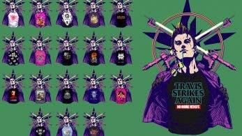 Nintendo nos muestra más camisetas de juegos indie de Travis Strikes Again: No More Heroes