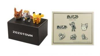 Ya puedes reservar estas figuras Nanoblocks y este set de pines de Pokémon