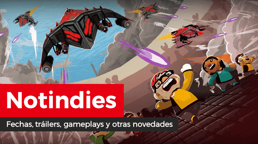 Novedades indies: Aftercharge, Catastronauts, Lazy Galaxy: Rebel Story, Pipe Push Paradise, Venture Towns, Yooka-Laylee, Wandersong, Dusk Diver, Donut County, Guacamelee! 2, Kingdom Two Crowns, Starman, Revenge of the Bird King y más