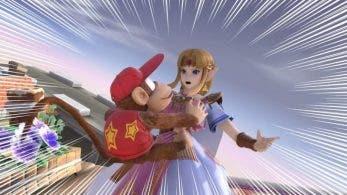 Sacar el lado pervertido a Diddy Kong es la nueva tendencia de Super Smash Bros. Ultimate en Japón