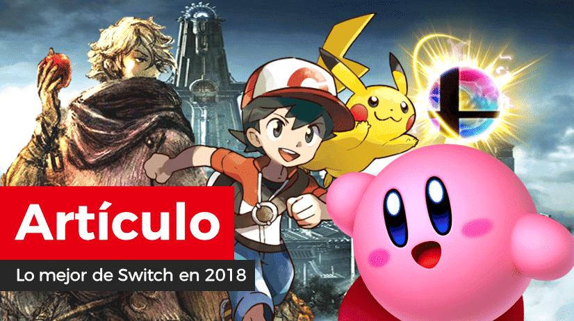 [Artículo] Los 5 juegos favoritos de Switch de 2018 para nuestros redactores