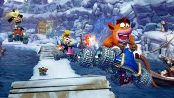 El director creativo de Crash Team Racing Nitro-Fueled comenta el salto tecnológico respecto al original