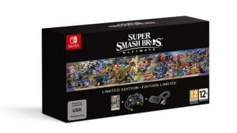 Unboxing de la edición limitada europea de Super Smash Bros. Ultimate