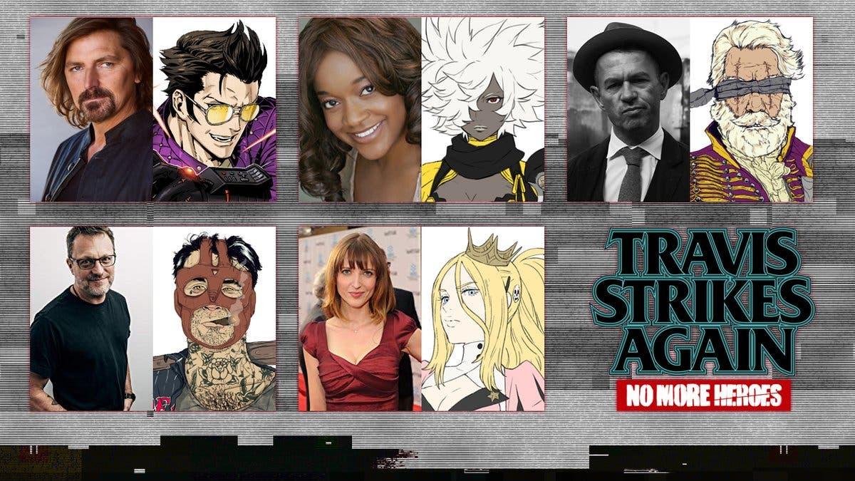 Conoce a los actores de voz de Travis Strikes Again: No More Heroes