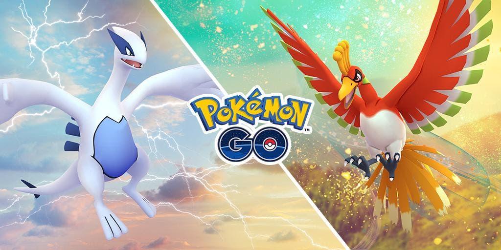 Lugia y Ho-Oh vuelven a Pokémon GO durante un fin de semana de incursión especial