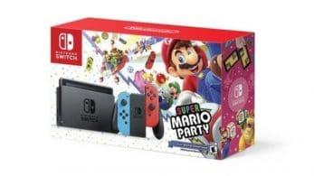 Walmart Canadá lista un pack de Nintendo Switch + Super Mario Party para el 24 de diciembre