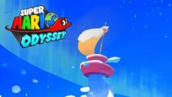 Nintendo comparte un nuevo fondo de pantalla para móviles invernal de Super Mario Odyssey