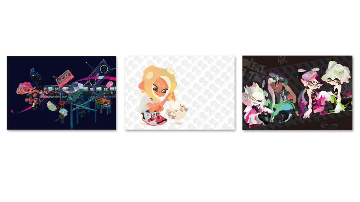 My Nintendo añade esta colección de postales de Splatoon 2 en Japón