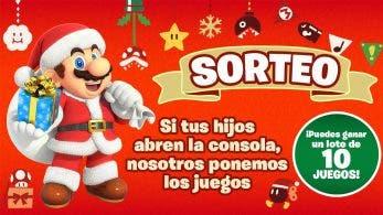 Graba a tus hijos abriendo una Nintendo Switch y opta a ganar el nuevo sorteo de Nintendo España