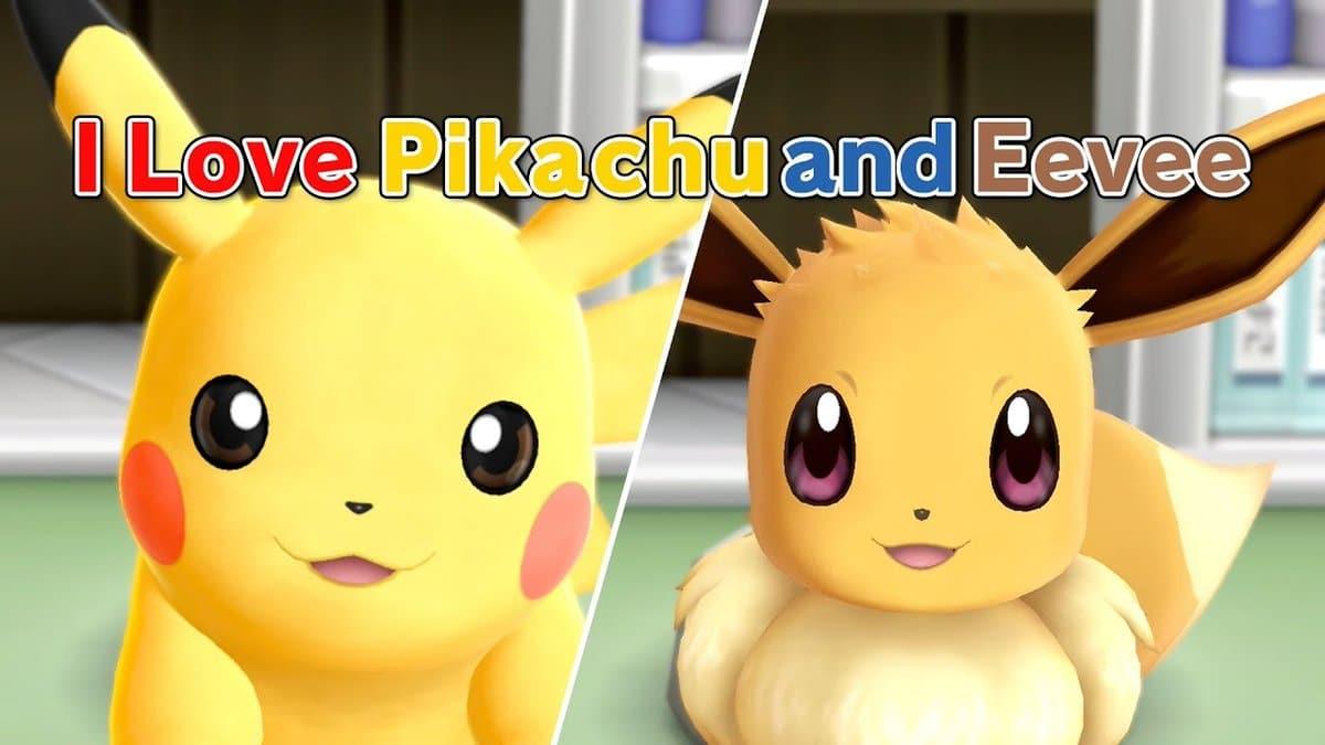 The Pokémon Company comparte un nuevo vídeo musical protagonizado por Pokémon: Let's Go