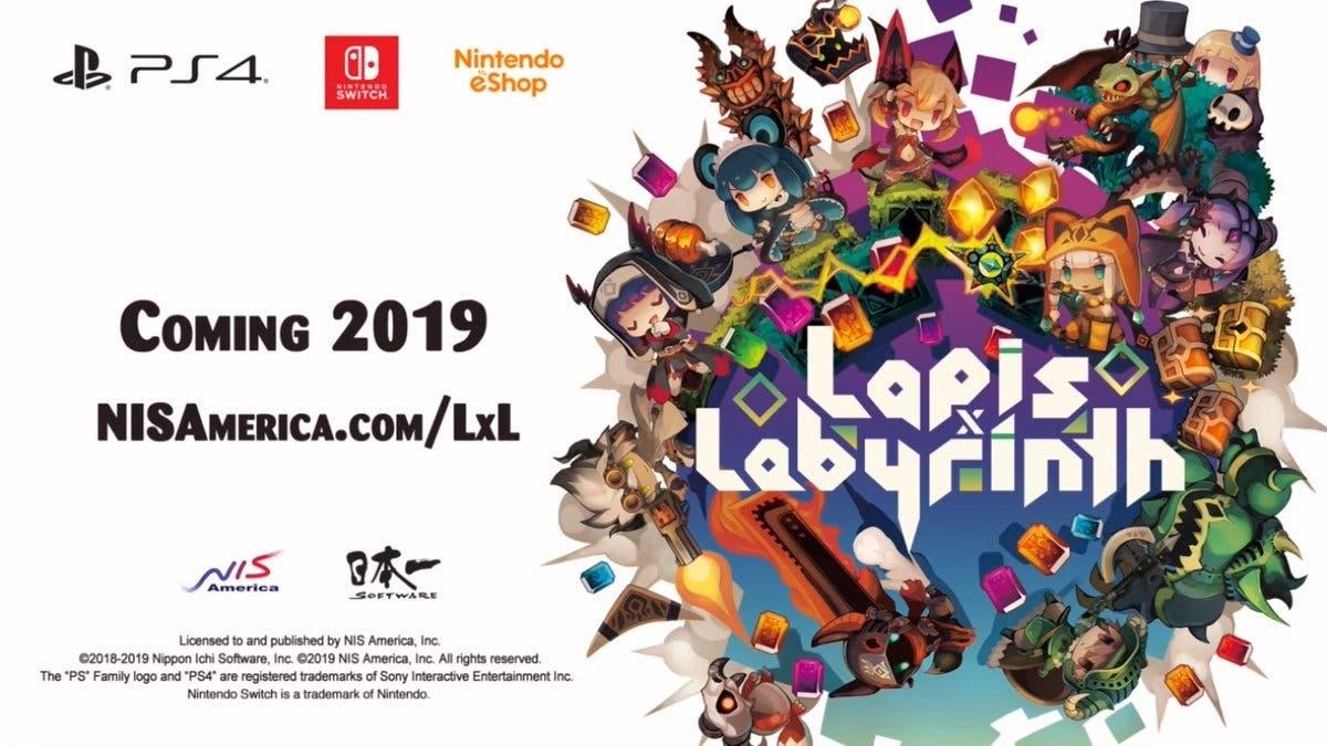 NIS America confirma el lanzamiento de Lapis x Labyrinth en Occidente
