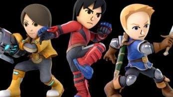 Nuevos trajes de Mii de pago llegarán a Super Smash Bros. Ultimate en 2019