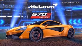 Ya está disponible el McLaren 570S Car Pack para Rocket League en Nintendo Switch