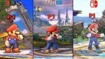 Digital Foundry compara las versiones de Super Smash Bros. para 3DS/Wii U con Nintendo Switch