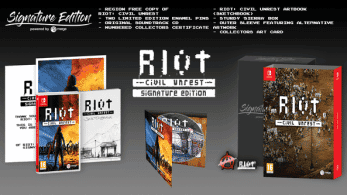 Merge Games lanzará esta Signature Edition de RIOT: Civil Unrest para Nintendo Switch