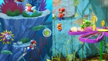 Echa un vistazo a estas nuevas capturas de Yoshi's Crafted World y New Super Mario Bros. U Deluxe