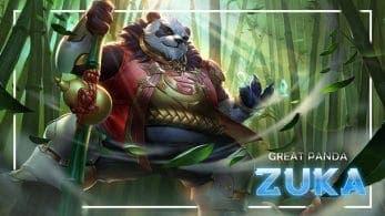 Zuka llega mañana a Arena of Valor para Switch junto a un nuevo set de recompensas