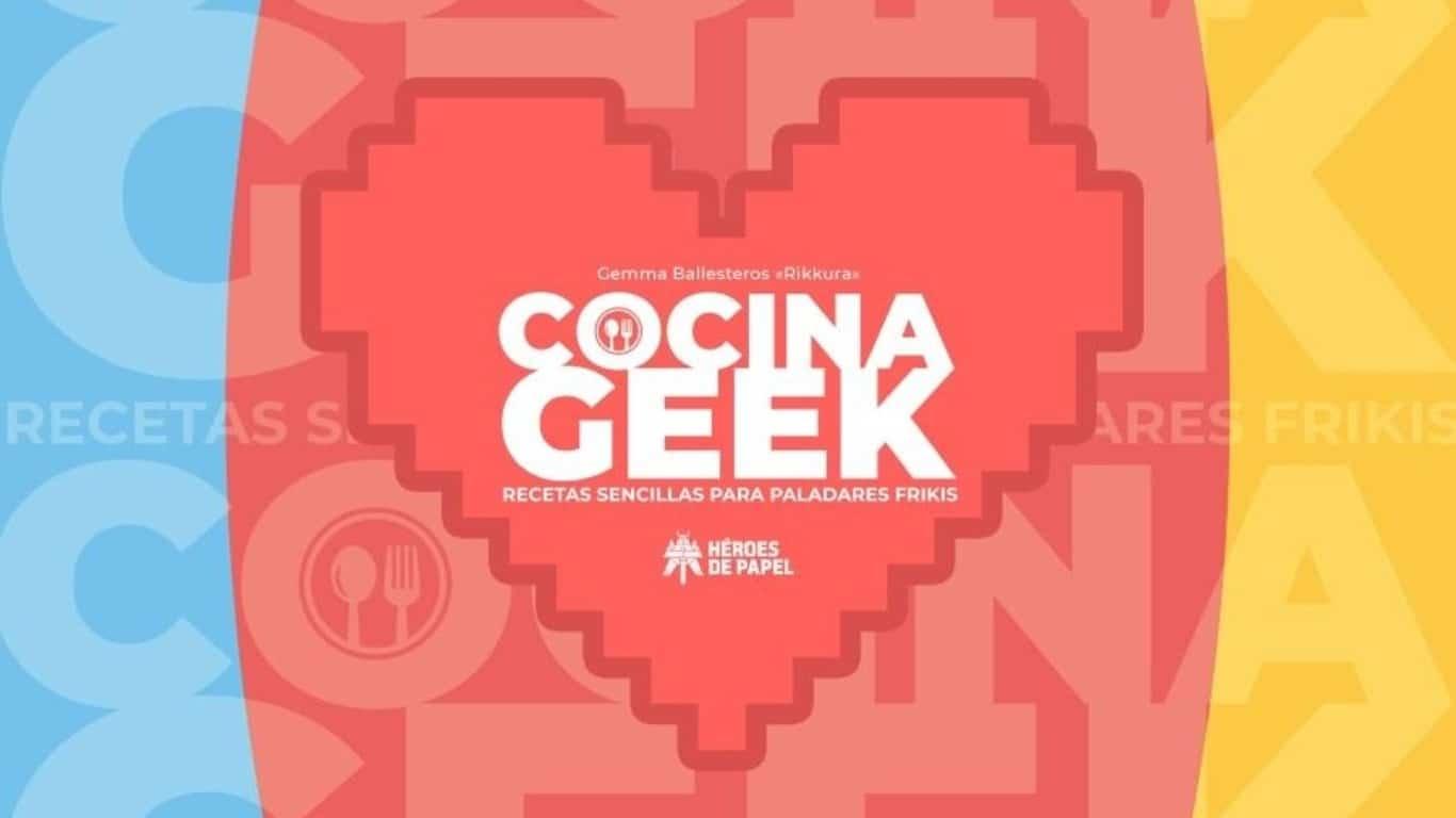Cocina Geek, un libro de recetas de cocina basadas en videojuegos, saldrá a la venta el 23 de enero