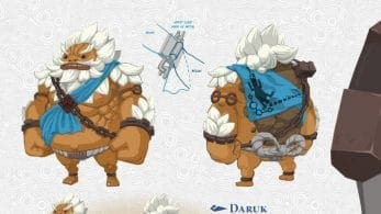Los Goron iban a tener un diseño completamente diferente en The Legend of Zelda: Breath of the Wild