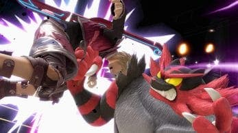 Incineroar usando su Smash Final contra todos los personajes de Super Smash Bros. Ultimate
