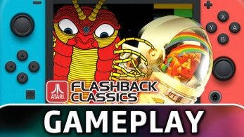 [Act.] Échale un vistazo a este gameplay de 15 minutos de Atari Flashback Classics en Nintendo Switch